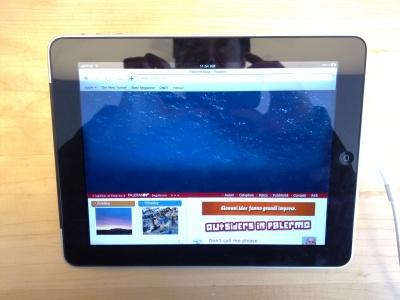 Rosalio sull'iPad