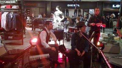 Inaugurazione de la Rinascente a Palermo - Peppe Corsale Band
