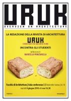 Incontro con la redazione di URUK mag alla Facoltà di Architettura