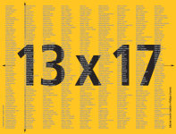 """13x17"""