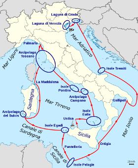 Itinerario 33 Isole