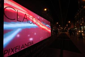"""Pixelandia"" a la Rinascente"