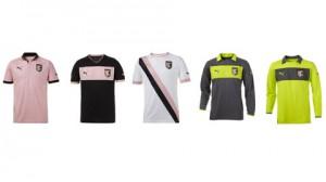 Presentate le maglie 2012/2013 del Palermo
