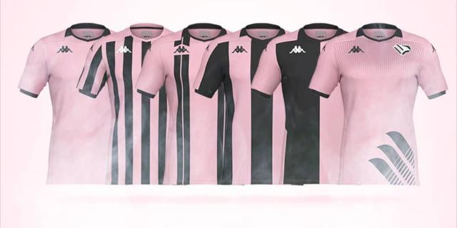 La nuova maglia del Palermo si sceglie online