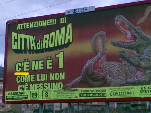 Manifesto del Circo Città di Roma