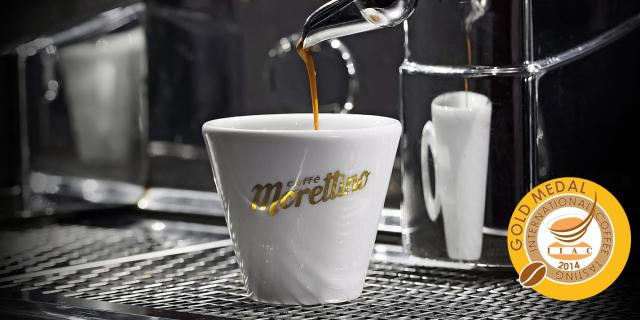 "Morettino vince la medaglia d'oro all'""International Coffee Tasting"""