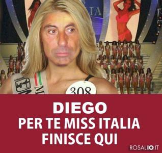 Diego per te Miss Italia finisce qui