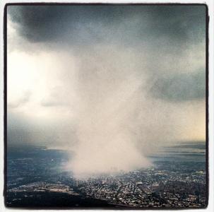 """Il """"monsone"""" di New York"""