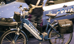 Mountain bike della Polizia di Stato