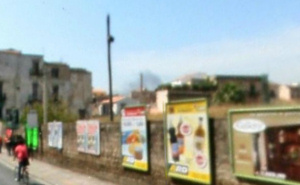 Il muro di via Maqueda