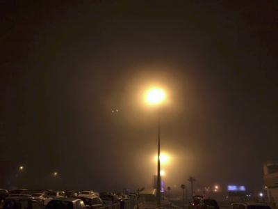 Nebbia nei comuni costieri a ovest di Palermo, disagi in aeroporto