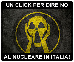No al nucleare in Italia