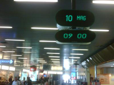 Orologio 1 all'aeroporto di Palermo