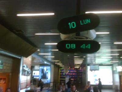 Orologio 2 all'aeroporto di Palermo