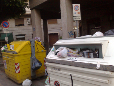 Parcheggi per disabili in via Pignatelli Aragona