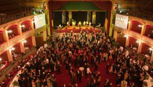 La festa per Di Meo al Teatro Politeama