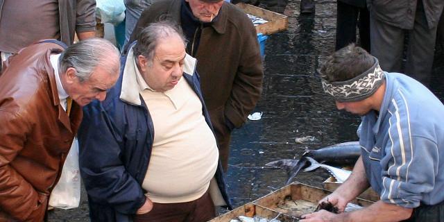 Pesce a Catania