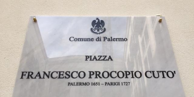 Piazza Francesco Procopio Cutò