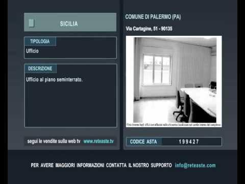 Ufficio - Palermo (SICILIA) -  Tribunale di Roma (codice asta: A199427)
