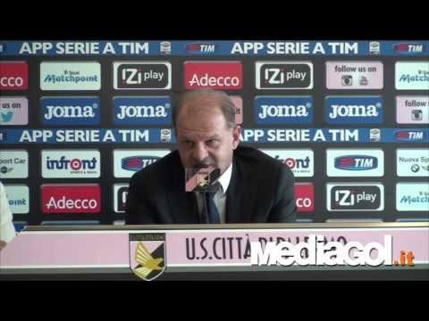 Beppe Iachini in conferenza stampa vigilia Palermo-Sampdoria HD - Mediagol.it