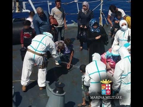 A Taranto e Palermo in arrivo 546 migranti
