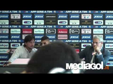 Presentazione Emerson Palmieri al Palermo - Mediagol.it