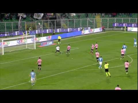 Palermo-Napoli 3-1 23a giornata di Serie A TIM 2014/2015 HL (90 sec)