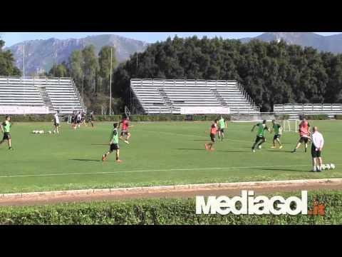 Palermo, allenamento pomeridiano a Boccadifalco