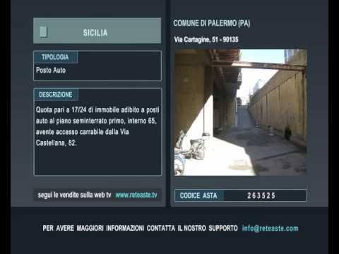 Posto Auto - Palermo (SICILIA) -  Tribunale di Roma (codice asta: A263525)