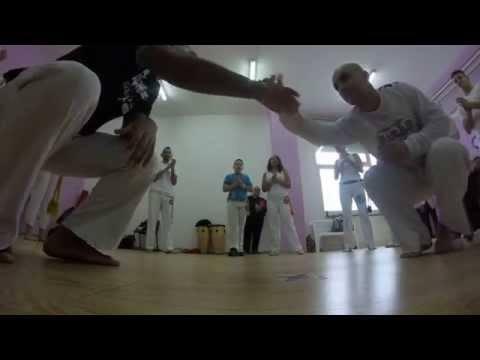 1° Festival Invernale Capoeira Reversão Palermo - Contra Mestre Macumba, Estagiàrio Vagalume