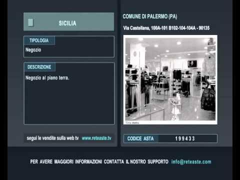 Negozio - Palermo (SICILIA) -  Tribunale di Roma (codice asta: A199433)