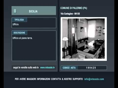 Ufficio - Palermo (SICILIA) -  Tribunale di Roma (codice asta: A199429)