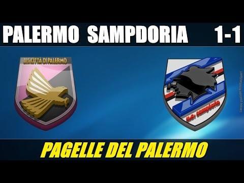PALERMO - SAMPDORIA 1-1 - SERIE A - 31-8-2014 - LE PAGELLE DEL PALERMO