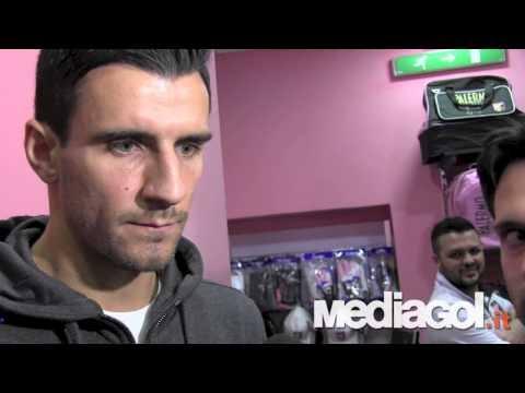 Intervista a Sinisa Andelkovic al nuovo store del Palermo