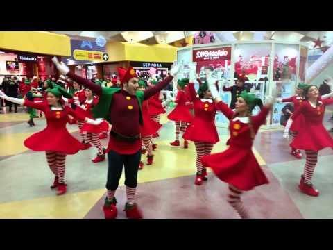 20150105 - Flash mob Epifania - centro commerciale conca d'oro - Palermo