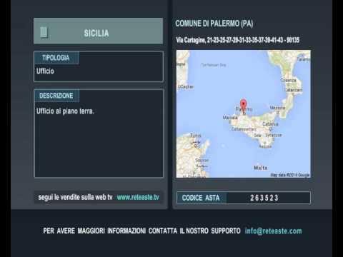 Ufficio - Palermo (SICILIA) -  Tribunale di Roma (codice asta: A263523)