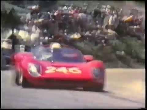 Targa Florio 1969, bivio di Cerda (Palermo)