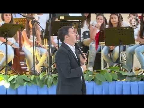 Renzi a Palermo Inizio Scuola 2014-2015 - Video