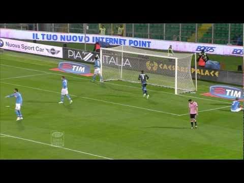 Palermo-Napoli 3-1 23a giornata di Serie A TIM 2014/2015 Sintesi (4 min)