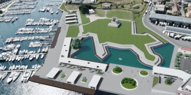 Porto di Palermo, nuovo terminal aliscafi e progetto per il Molo trapezoidale