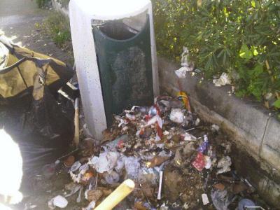 La pulizia del quartiere Uditore del 3 febbraio