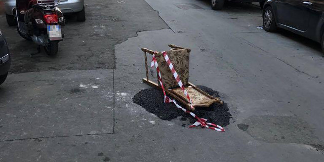 """Rattoppo sì, ma """"in sicurezza"""" a Palermo"""