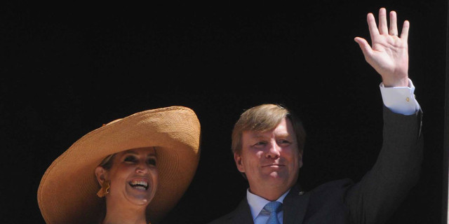 Il re e la regina d'Olanda