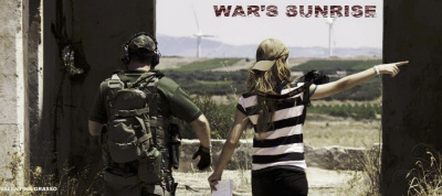 "Si gira ""War's Sunrise"""
