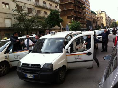 La rivolta dei taxi