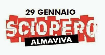 29 gennaio 2014: io c'ero - Sciopero Almaviva