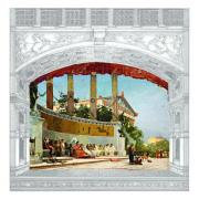 Sipario storico del Teatro Politeama
