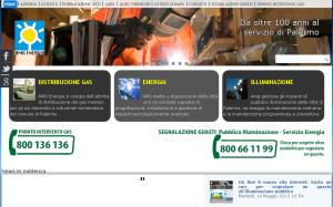 Online il nuovo sito di Amg Energia