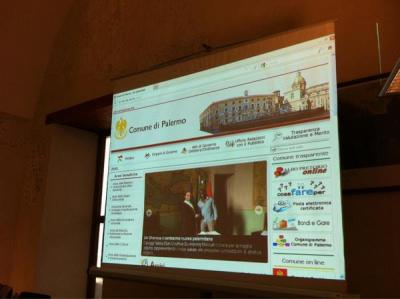 Il nuovo sito web del Comune di Palermo in anteprima