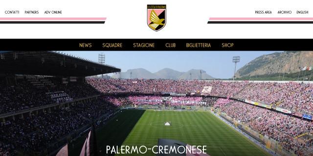 Online il nuovo sito del Palermo